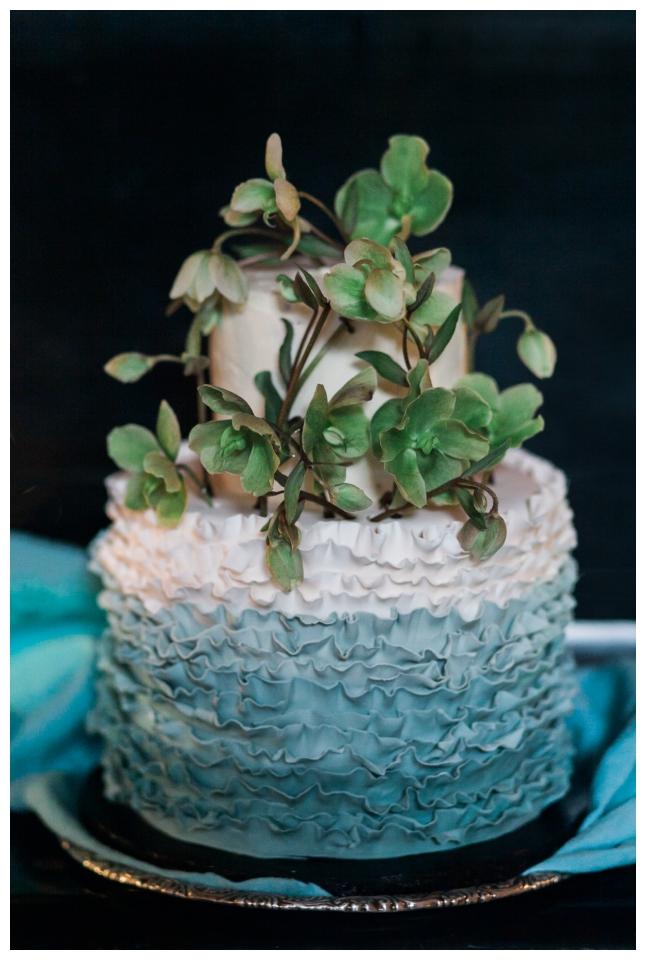 Vanduo Vandens spalvos dekoras | AQUA WEDDING